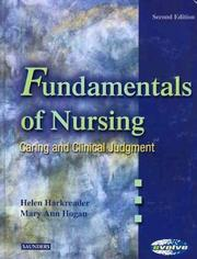 Cover of: Fundamentals of Nursing -- Caring and Clinical Judgement