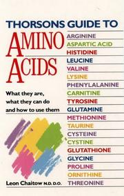 Cover of: Thorsons Guide to Amino Acids