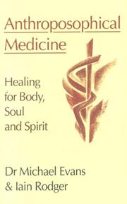 Cover of: Anthroposophical Medicine