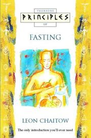 Cover of: Principles of Fasting