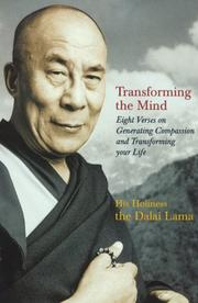 Cover of: Transforming the Mind: teachings on generating compassion