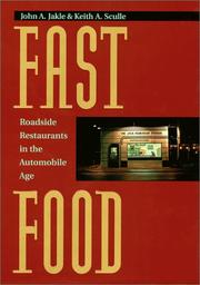 Cover of: Fast Food: Roadside Restaurants in the Automobile Age (The Road and American Culture)