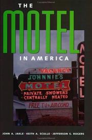 Cover of: The Motel in America (The Road and American Culture)