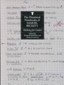 Cover of: The theatrical notebooks of Samuel Beckett