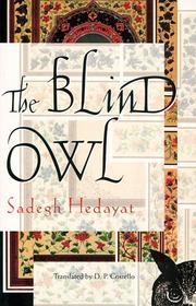 Cover of: The Blind Owl