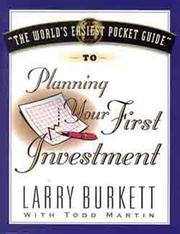 Cover of: World's Easiest Pocket Guide To Planning Your First Investment