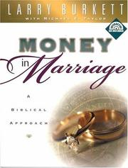 Cover of: Money In Marriage Workbook (Christian Financial Concepts Resourceful Living Series)