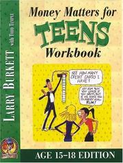 Cover of: Money Matters Workbook for Teens (ages 15-18)