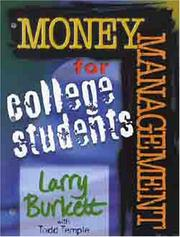 Cover of: Money Matters Workbook for College Students