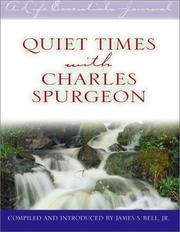 Cover of: Quiet Times With Charles Spurgeon (A Life Essentialsjournal)