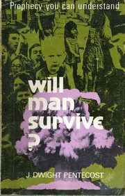 Cover of: Will Man Survive?