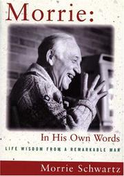 Cover of: Morrie In His Own Words