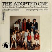 Cover of: Adopted One