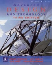 Cover of: Advanced Design and Technology