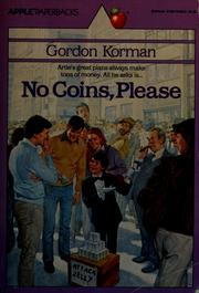Cover of: No Coins, Please