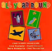 Cover of: All Year Round: A Book to Benefit Children in Poverty