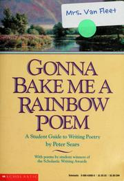 Cover of: Gonna bake me a rainbow poem