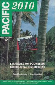 Cover of: Strategies for Polynesian Agricultural Development (Pacific policy paper)