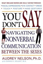 Cover of: You Don't Say