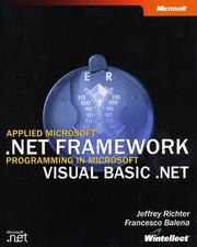 Cover of: Applied Microsoft .NET Framework Programming in Microsoft Visual Basic .NET