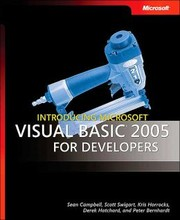 Cover of: Introducing Microsoft  Visual Basic  2005 for Developers (Pro - Developer)
