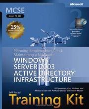 Cover of: MCSE Self-Paced Training Kit (Exam 70-294)