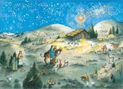 Cover of: Away in a Manger Advent Calendar