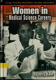 Cover of: Women in medical science careers