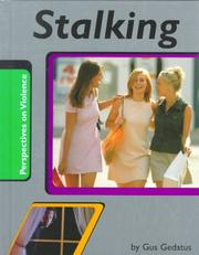 Cover of: Stalking (Perspectives on Violence)