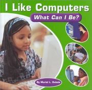 Cover of: I Like Computers