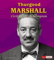 Cover of: Thurgood Marshall: Civil Rights Champion (Fact Finders)