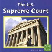 Cover of: The U.s. Supreme Court (First Facts: Our Government)