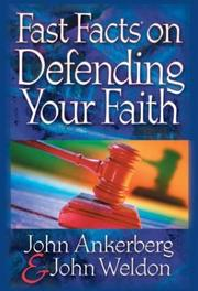 Cover of: Fast Facts® on Defending Your Faith