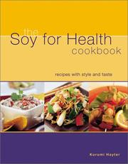 Cover of: The Soy for Health Cookbook