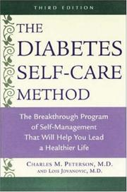 Cover of: The Diabetes Self-Care Method
