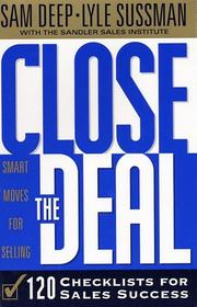 Cover of: Close the Deal