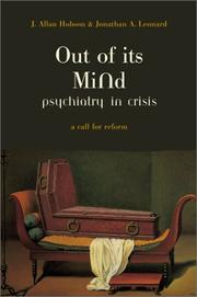 Cover of: Out of Its Mind