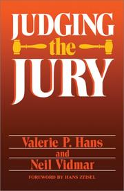 Cover of: Judging the Jury