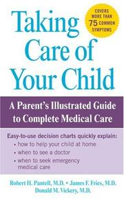 Cover of: Taking Care of Your Child
