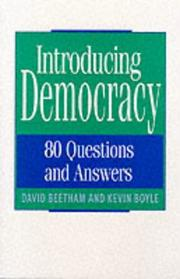 Cover of: Introducing Democracy