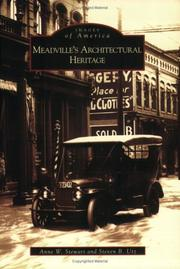 Cover of: Meadville's Architectural Heritage (PA) (Images of America)