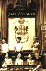 Cover of: Jewish  Ann  Arbor   (MI)  (Images  of  America)