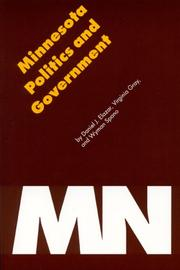 Cover of: Minnesota Politics and Government (Politics and Governments of the American States)