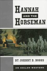 Cover of: Hannah and the Horseman