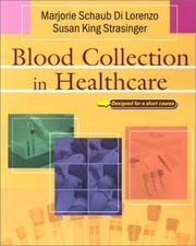 Cover of: Blood Collection in Healthcare