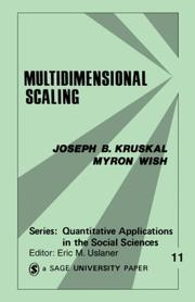 Cover of: Multidimensional Scaling (Quantitative Applications in the Social Sciences)