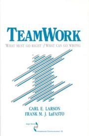 Cover of: Teamwork