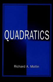 Cover of: Quadratics