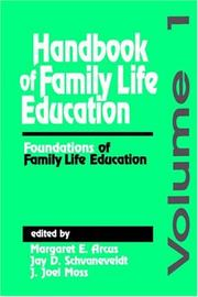 Cover of: Handbook of Family Life Education