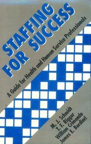 Cover of: Staffing for Success